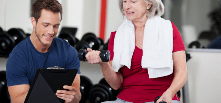 Personal Training and Strength Training for Seniors