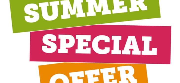 Personal Training Summer Specials